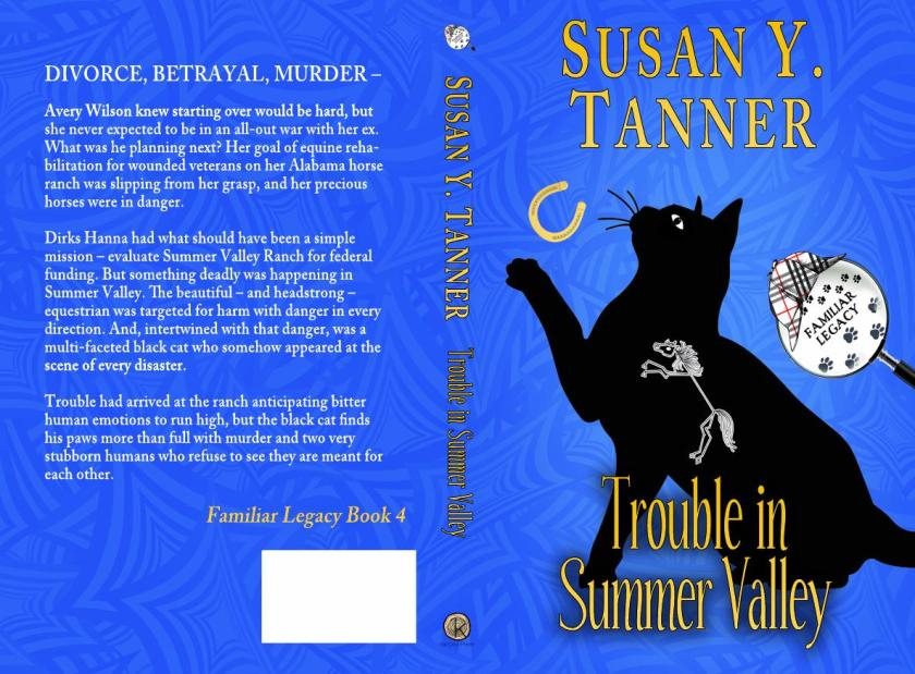 Trouble in Summer Valley Flat Cover